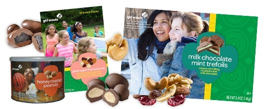 Girl Scout Fall Product Program collage