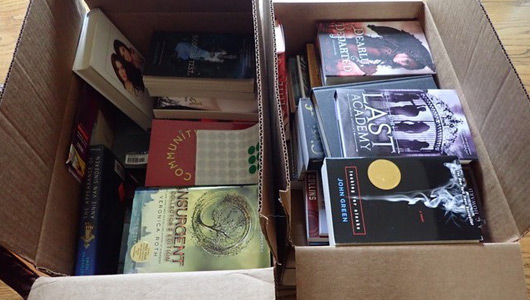 Books donated to Girls Inc. Kingsport