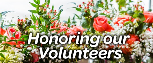 Honoring our Volunteers