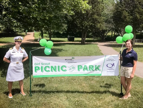 Girl Scout Picnic in the Park